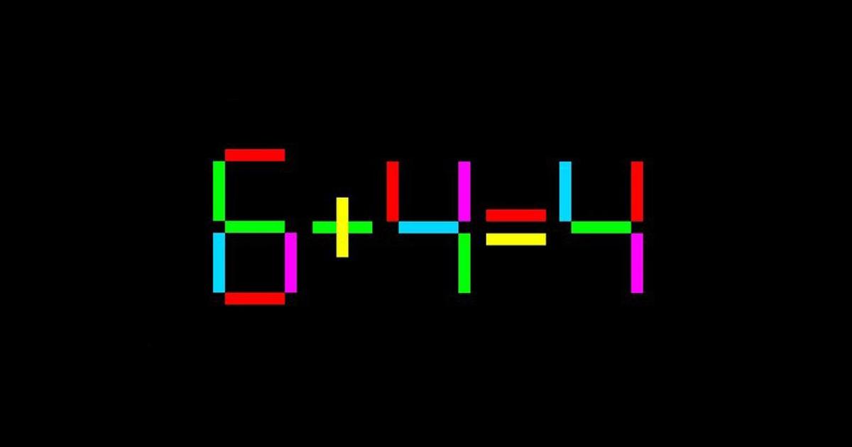 Matematičko-logička mozgalica: Pomjeri jednu crticu da riješiš jednačinu