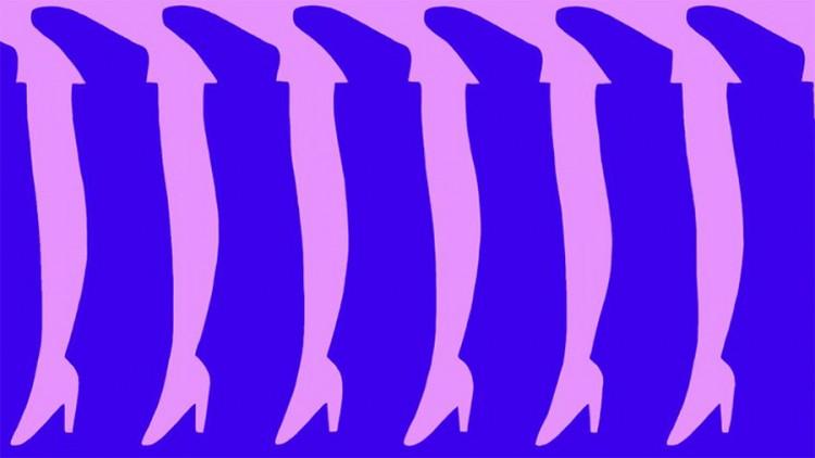 Test opažanja: Koliko nogu vidite?