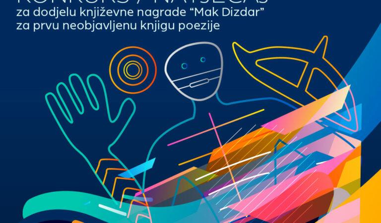 """Otvoren konkurs za književnu nagradu """"Mak Dizdar"""""""