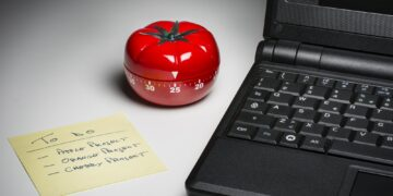 Kitchen timer for cooking and working productively.