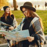 tourist girls