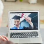 Video Chat at Graduation
