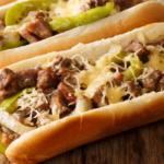 Philly Cheesesteak sendvič