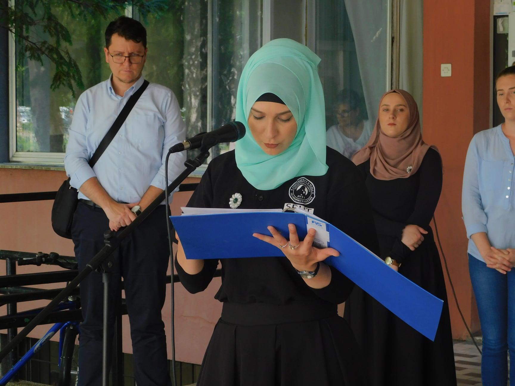 Čitanje za Srebrenicu / Foto: Facebook