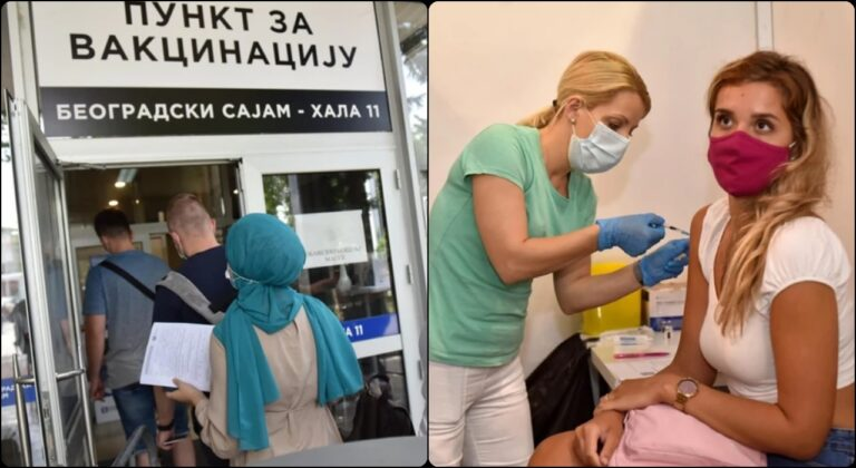 Vakcinacija u Beogradu / Foto: RAS Srbija