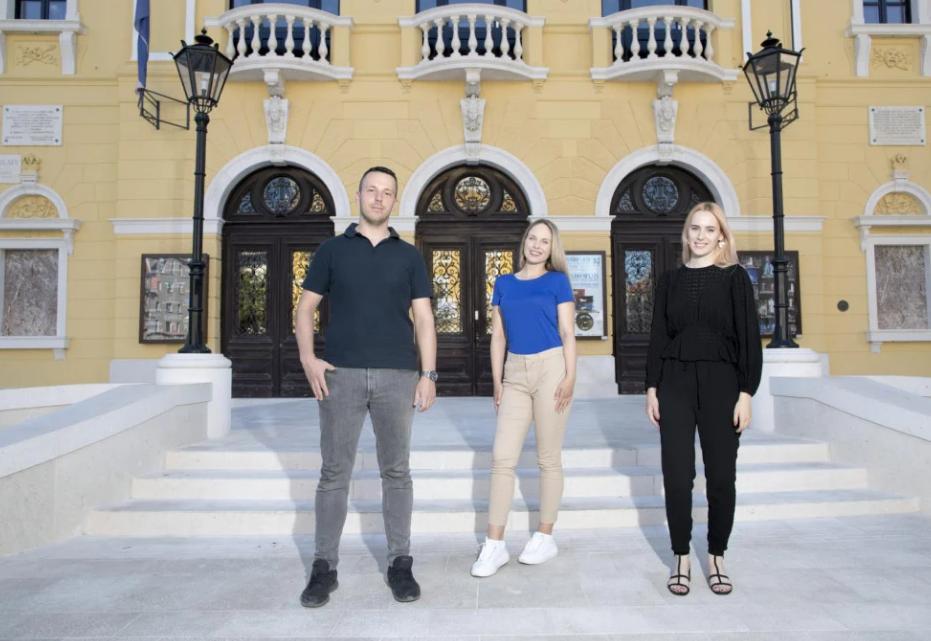 Marin Radić, Ena Jurić i Antonija Buzov