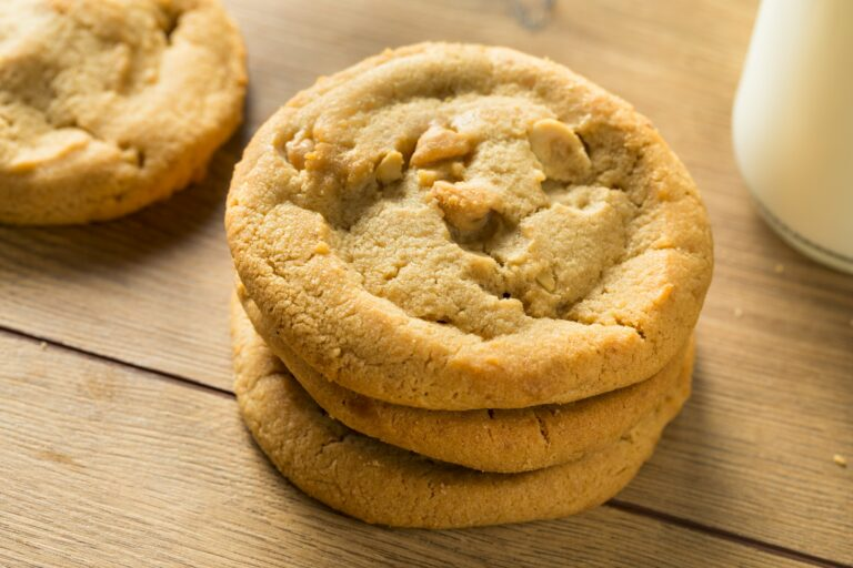 Sweet Homemade Peanut Butter Cookies