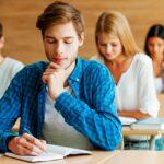 Focused on exam.