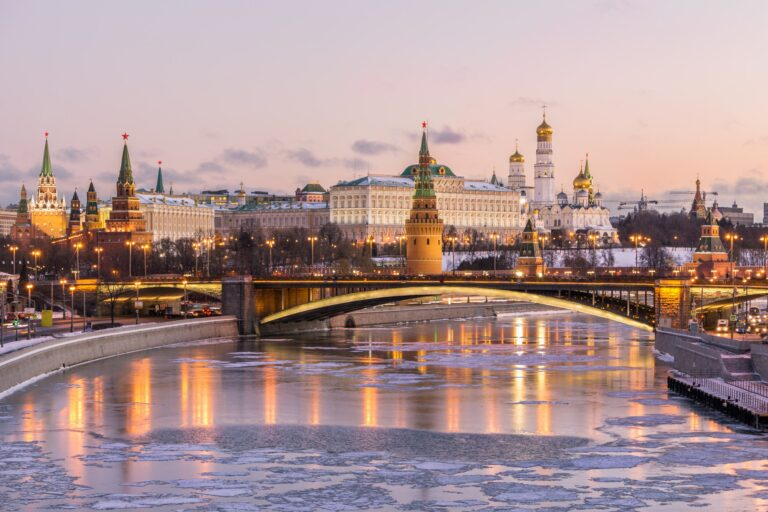 Moscow Kremlin and Moscow river