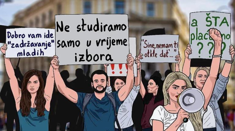 Protesti nezadovoljnih studenata zakazani za 13. septembar u Sarajevu (Foto: Facebook)