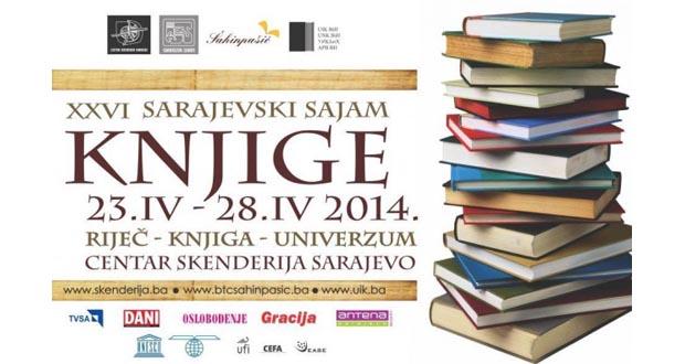 Danas otvoren međunarodni 26. Sarajevski sajam knjige