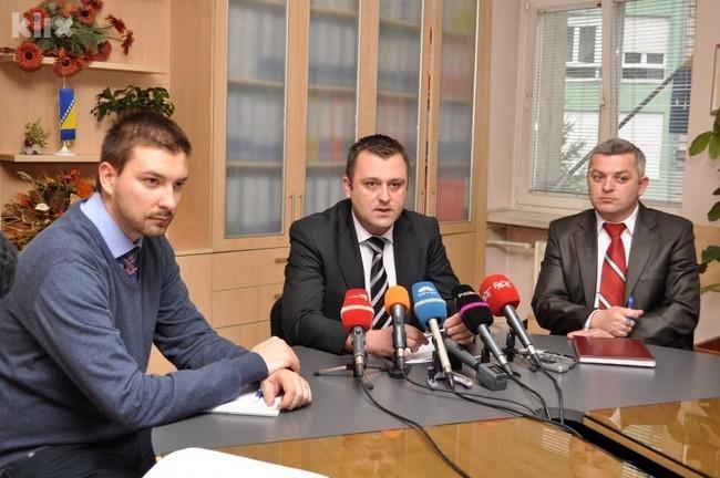 Boris Pupić, Adnan Delić i Željko Rajić (Foto: Nedim Grabovica/Klix.ba)