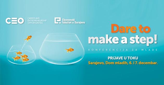 Vrijeme je pozitivnih promjena za mlade u BiH: CEO konferencija u sarajevskom Domu mladih