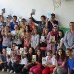 Foto: Članovi udruženja u O.Š. Ćamil Sijarić, Nemila