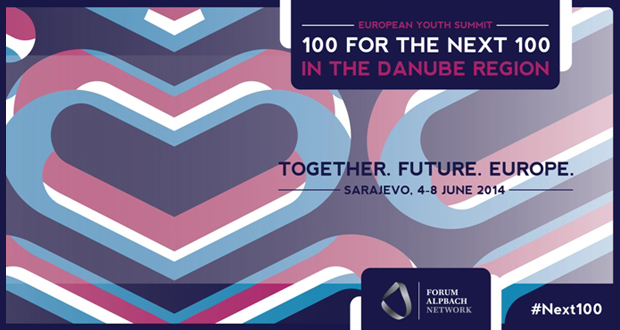 Poziv za volontere na European Youth Summit: 100 for the Next 100 in the Danube Region