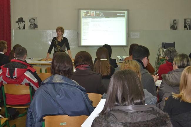 Edukacija nastavnika razredne nastave i EMIS koordinatora osnovnih škola Kantona Sarajevo; Foto: Klix.ba