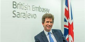 Edward Ferguson, ambasador Velike Britanije u BiH; Foto: 24sata