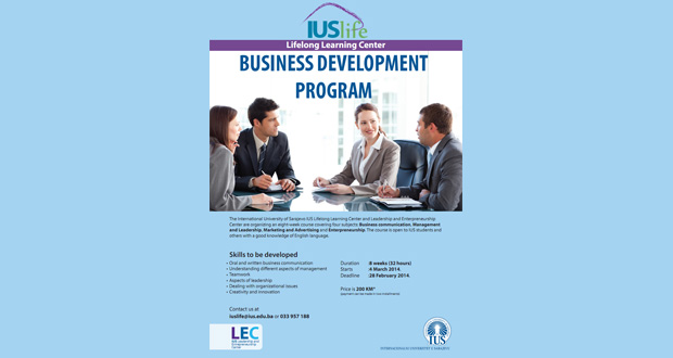 IUS LIFE: Business Development Program [ENG]