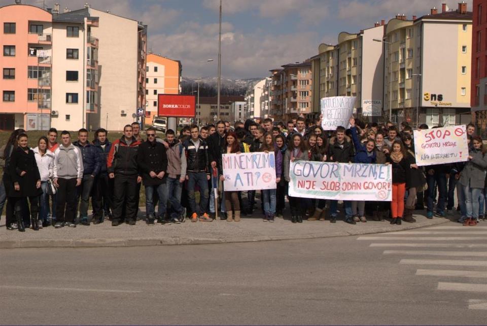 Mirnom šetnjom protiv govora mržnje na internetu