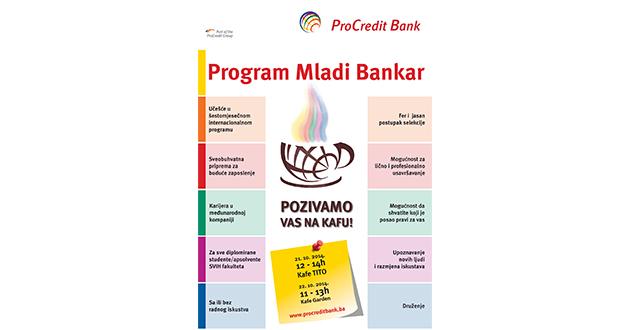 """Kafa sa """"Mladim Bankarima"""" ProCredit Banke u Sarajevu"""
