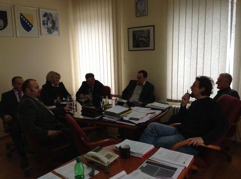 Sastanak u prostorijama Ministarstva za obrazovanje nauku i mlade Kantona Sarajevo; Foto: Klix.ba