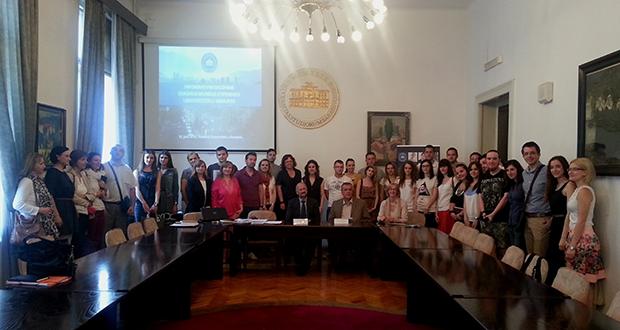 UNSA: Susret stipendista programa Erasmus Mundus