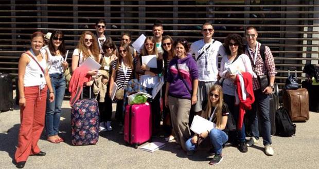 Foto: Stipendisti na Evropskom Forumu Alpbach 2013