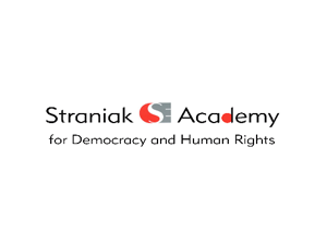 Straniak akademija za demokratiju i ljudska prava