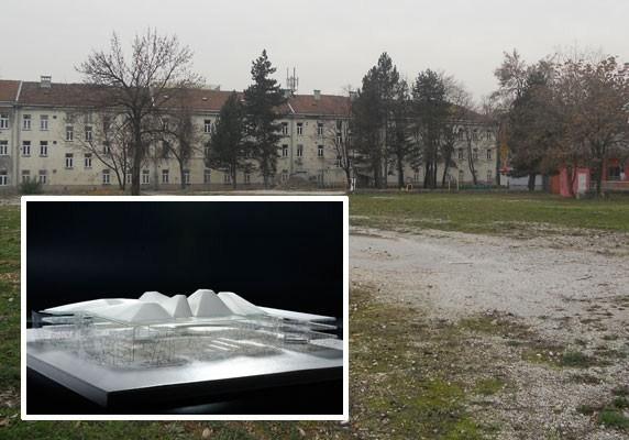 Biblioteka će biti izgrađena u Kampusu Univerziteta; Foto: Avaz
