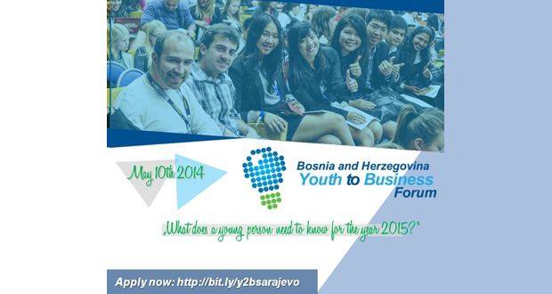 Otvorene aplikacije za Youth to Business Forum