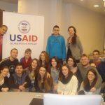 """Učesnici treninga """"Društvene mreže i javne kampanje u sektoru pravosuđa""""; Foto: Radiosarajevo.ba"""