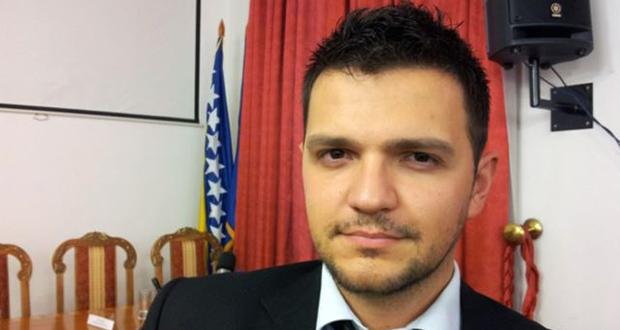 Adnan Rahimić; Foto: Zvjezdan Živković (RFE/RL)