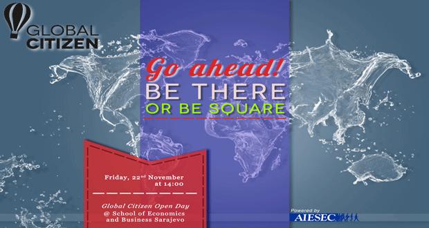 """AIESEC Sarajevo: Poziv na """"Global Citizen Open Day"""""""