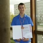 Alija Bevrnja na 41. Međunarodnoj olimpijadi iz fizike; Foto: Klix.ba