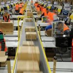 Jedan od logističkih centara Amazona; Photo: DW