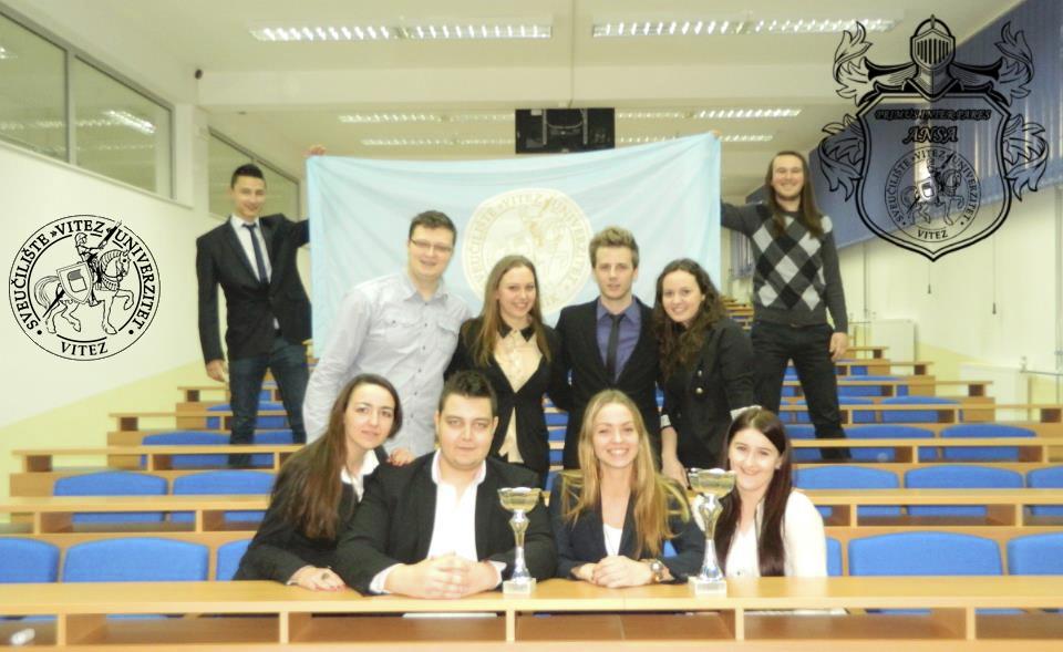"""Asocijacija naprednih studenata (ANSA) Sveučilišta/Univerziteta """"Vitez"""""""