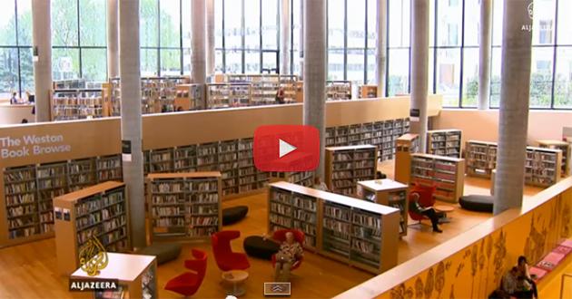 Biblioteka novog doba u Engleskoj [VIDEO]