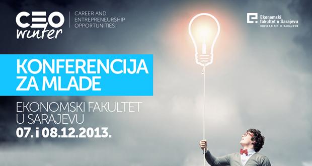 CEO Winter konferencija na Ekonomskom fakultetu u Sarajevu
