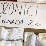 Na Sajmu knjiga u Sarajevu prodavali se i 'đonovi'