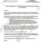 """Poziv za učešće na """"EYCA info danu"""""""