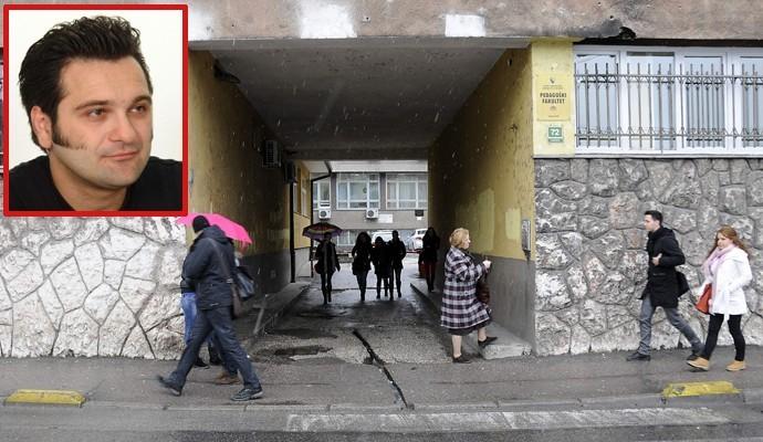 Profesor Haris Cerić brutalno pretučen ispred zgrade fakulteta, Foto: Avaz