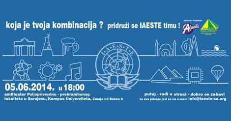 IAESTE BiH LC Sarajevo: Postani dio IAESTE tima! [VIDEO]