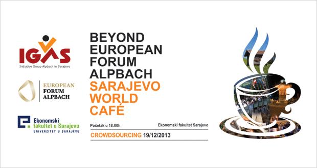 "IGAS: Sarajevo World Cafè na temu ""Crowdsourcing"""