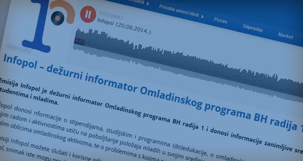 Dvije godine saradnje Omladinskog programa BH radija 1 i portala STUDOMAT.ba
