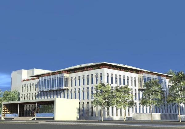 Izgled buduće zgrade Islamskoh pedagoškoh fakulteta Univerziteta u Zenici; Foto: Klix.ba