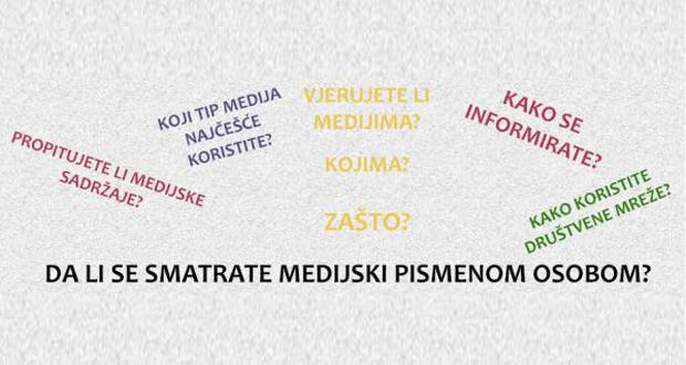 UNSA: Poziv studentima da se prijave na Kliniku medijske pismenosti