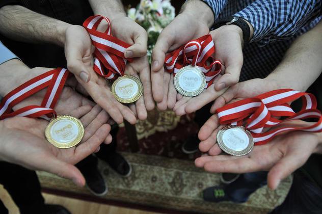 Svečani doček za bh. studente, osvajače zlatnih i srebrnih medalja; Foto: Anadolija