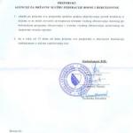 Preporuka Institucije ombudsmana za ljudska prava Bosne i Hercegovine Agenciji za državnu službu Federacije BiH