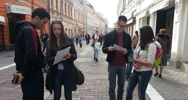 """ONAuBiH: Realizovana kampanja """"Građani i novinari zajedno u borbi za istinu"""" u Banjoj Luci"""