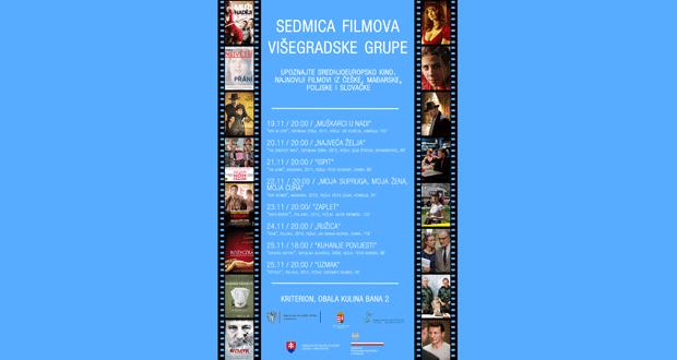 Kriterion: Sedmica filmova Višegradske grupe